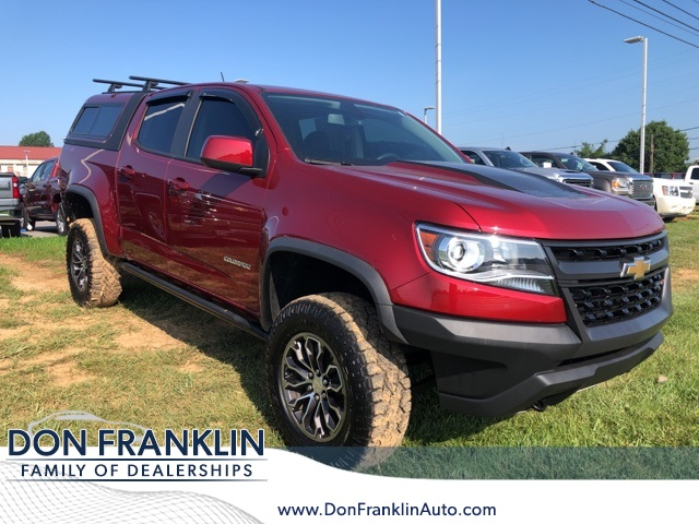 Chevy Colorado 2018 >> Pre Owned 2018 Chevrolet Colorado Zr2 4wd