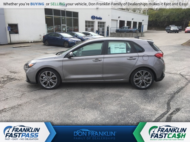 new 2020 hyundai elantra gt n line 4d hatchback in lexington lu123826 don franklin auto new 2020 hyundai elantra gt n line with navigation